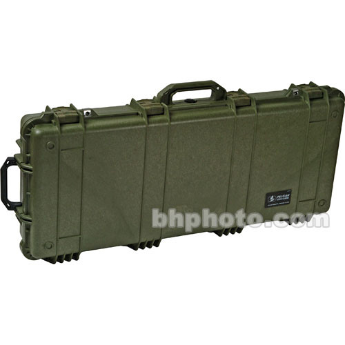 Pelican 1750NF Long Case without Foam (Olive Drab Green)
