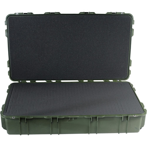 Pelican 1780T Transport Case with Foam (Olive Drab Green)