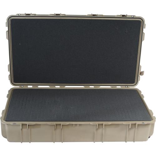 Pelican 1780T Transport Case with Foam (Desert Tan)