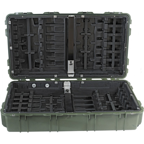 Pelican 1780W HL Long Case with Rigid Polyethylene Tray (Olive Drab Green)