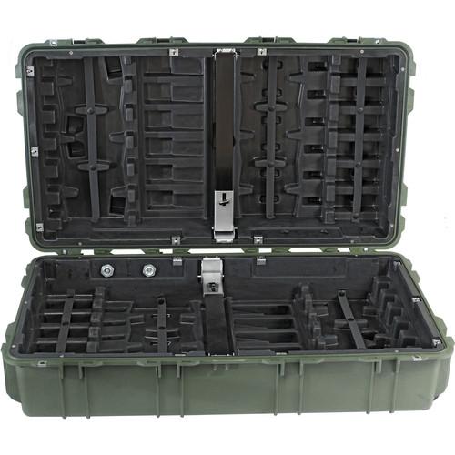 Pelican 1780W HL Long Case with Rigid Polyethylene Tray (Olive Drab Green)