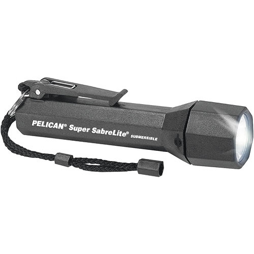 Pelican Sabrelite 2000 Flashlight 3 'C' Xenon Lamp (Black)