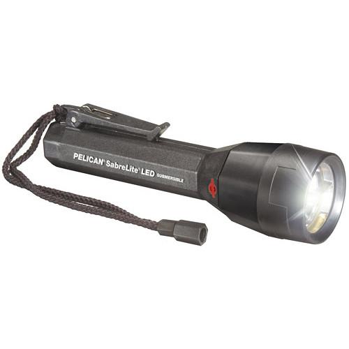 Pelican Sabrelite 2020 3 'C' LED Flashlight  (Black)