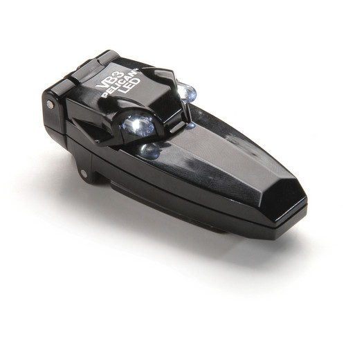 Pelican 2220 VB3 LED Clip Flashlight (Black)
