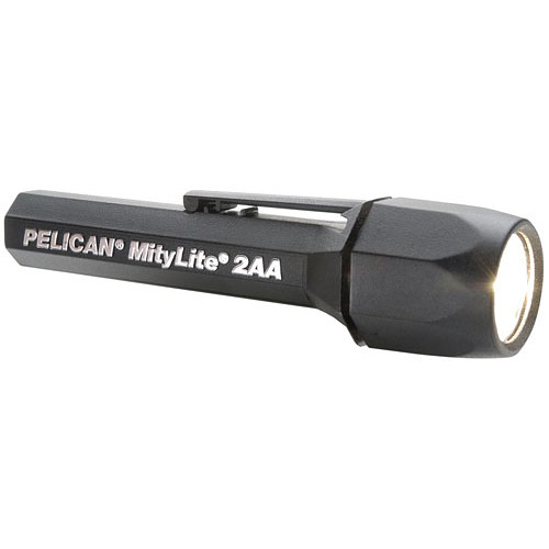 Pelican Mitylite 2300 Flashlight 2 'AA' Xenon Lamp  (Black)