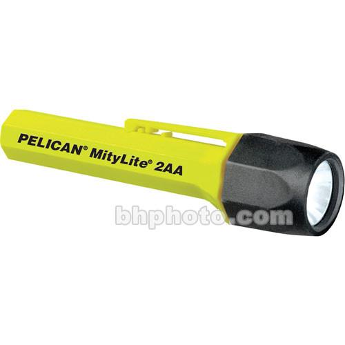 Pelican Mitylite 2300 Flashlight 2 'AA' Xenon Lamp  (Yellow)