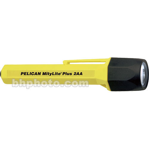 Pelican Mitylite Plus 2340 Flashlight 2 'AA' Xenon Lamp (Yellow)