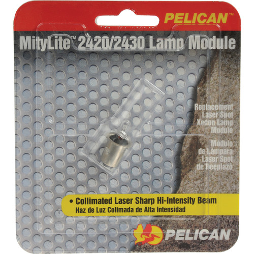 Pelican Replacement Xenon Lamp Module 2424 3.66W 6V for Mitylite 2420/2430