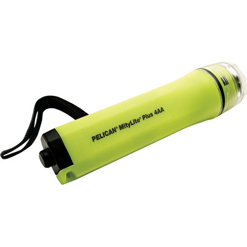 Pelican Mitylite Flashlight 2430 4  'AA' Xenon Lamp  (Yellow)