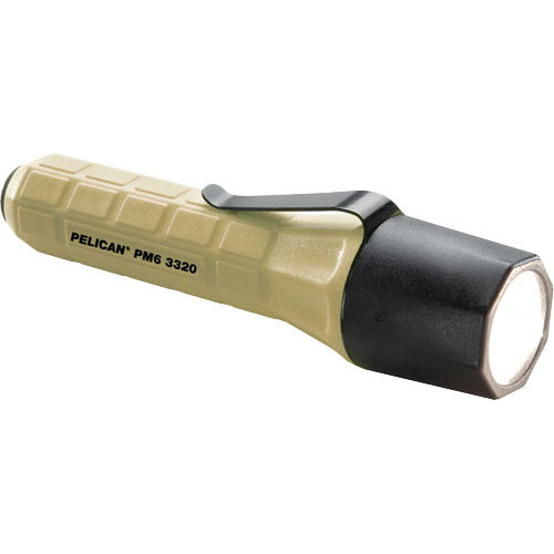 Pelican M6 3320 2 'CR123' Xenon Flashlight (Desert Tan)