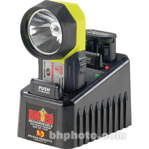 Pelican Big Ed Lite Rechargeable w/ 110V Fast Charger Xenon and Krypton