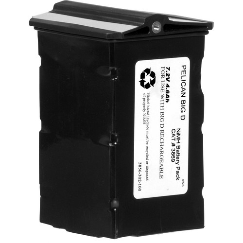 Pelican 3869 Rechargeable NiMH Battery Pack (Replacement)