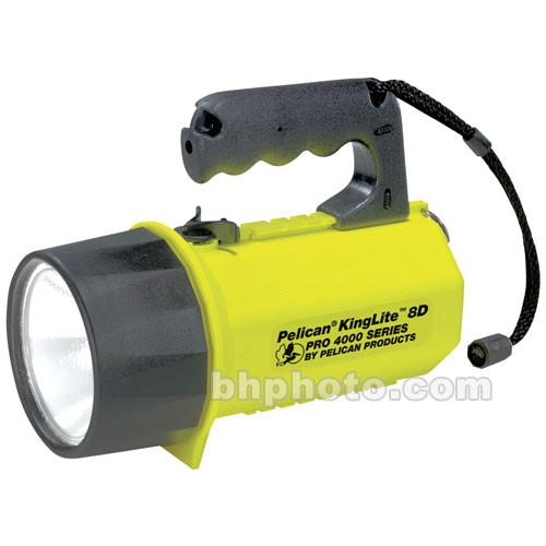 Pelican KingLite 8 'D' w/ Laser Spot Reflector (Yellow)