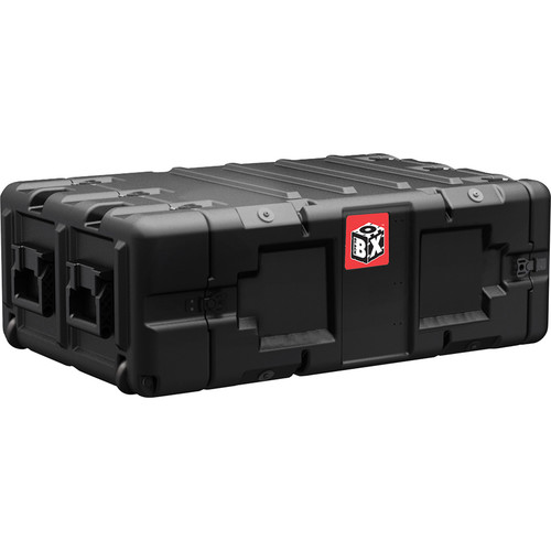 Pelican Hardigg BlackBox 4 RU Rackmount Case (M6 Threads)