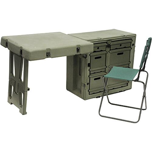 Pelican Hardigg FD3121 Single Field Desk