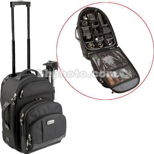 Pelican PCS-182 Rolling/Backpack Case (Black)