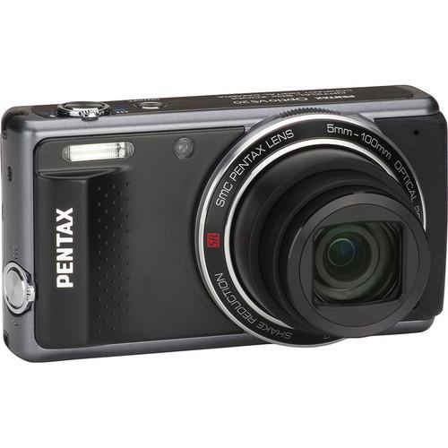 Pentax Optio VS20 Digital Camera (Black)