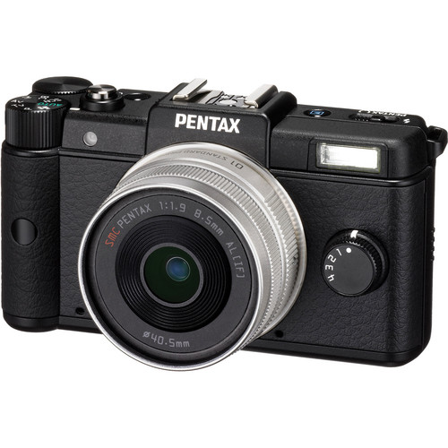 Pentax Q Digital Camera with 8.5mm Lens (Black)