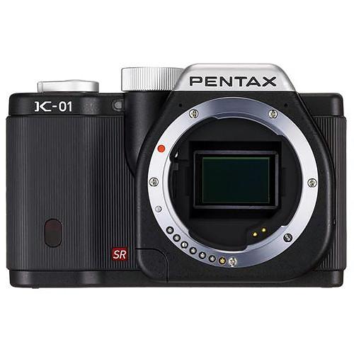 Pentax K-01 Digital Camera (Black)