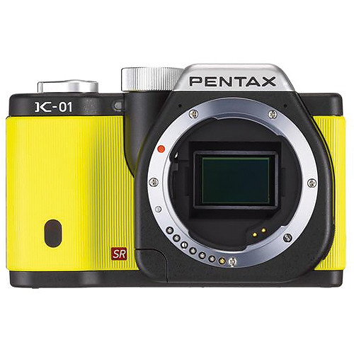 Pentax K-01 Digital Camera (Yellow)
