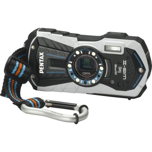 Pentax Optio WG-2 GPS Digital Camera (White)