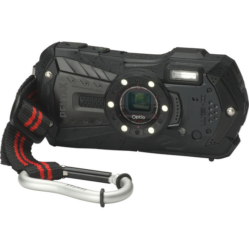 Pentax Optio WG-2 Digital Camera (Black)
