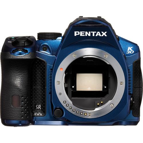 Pentax K-30 DSLR Camera (Body Only) (Crystal Blue)