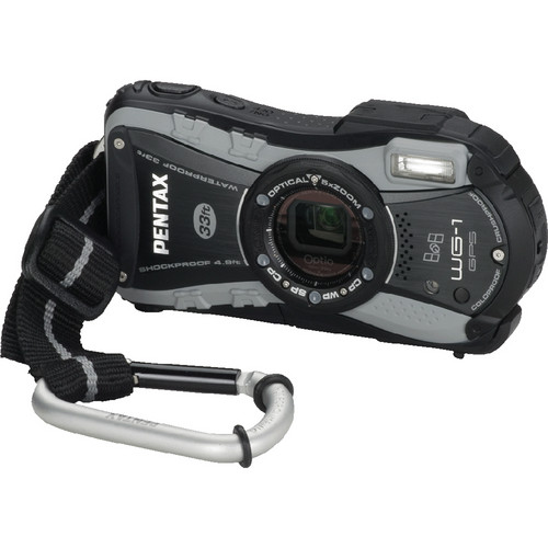 Pentax Optio WG-1 GPS Digital Camera (Black)