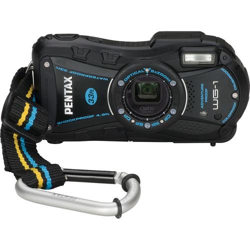 Pentax Optio WG-1 Digital Camera (Black)