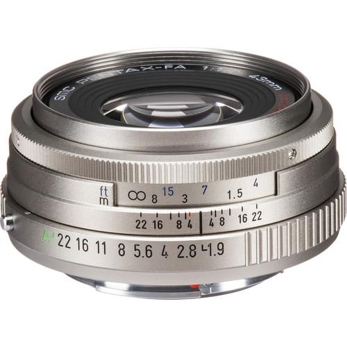 Pentax smc PENTAX-FA 43mm f/1.9 Limited Lens (Silver)