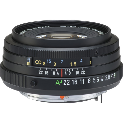 Pentax SMCP-FA 43mm f/1.9 Limited Series Autofocus Lens (Black)