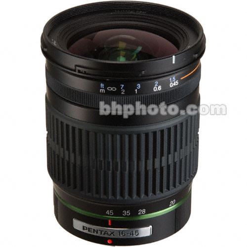 Pentax SMCP-DA 16-45mm f/4.0 ED AL Autofocus Lens for Digital Camera