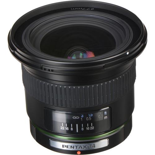 Pentax Super Wide Angle SMCP-DA 14mm f/2.8 Autofocus Lens