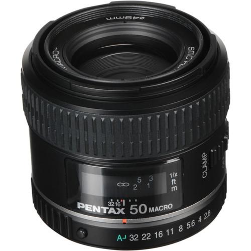 Pentax Normal smc P-D FA 50mm f/2.8 Macro Autofocus Lens