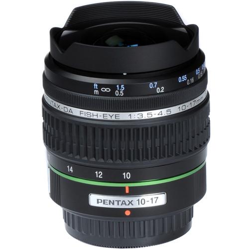 Pentax SMCP-DA 10-17mm f/3.5-4.5 ED Autofocus Lens