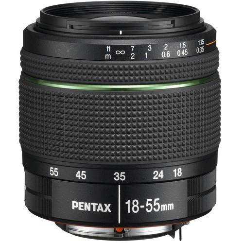 Pentax DA 18-55mm f/3.5-5.6 AL WR Zoom Lens