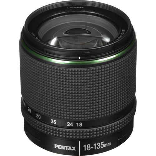 Pentax SMC DA 18-135mm F/3.5-5.6 ED AL (IF) DC WR Lens