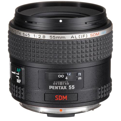 Pentax Pentax-D FA 645 55mm f/2.8 AL[IF] SDM AW Lens