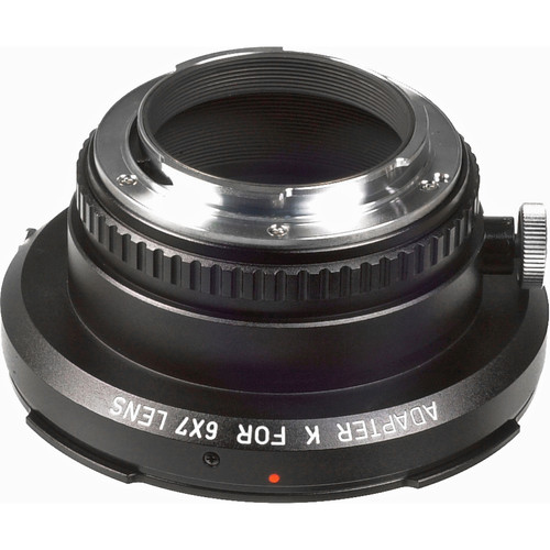 Pentax 67 Lens to Pentax 35mm K-Mount Body Adapter