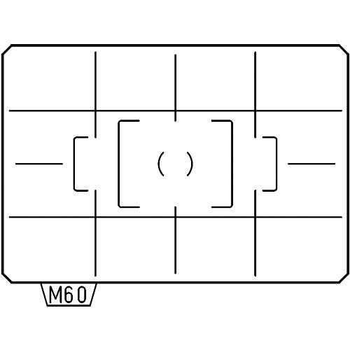 Pentax ML-60 AF Cross-lined Matte Focusing Screen