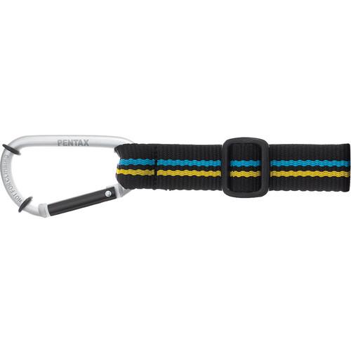 Pentax Carabiner Strap O-ST118 for Black Optio WG-1 Camera