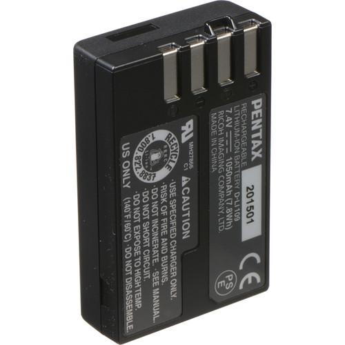 Pentax Rechargeable Li-Ion Battery D-Li109 for The KR Digital SLR Camera
