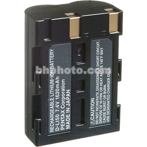 Pentax D-LI50 Rechargeable Li-Ion Battery for Pentax K10D