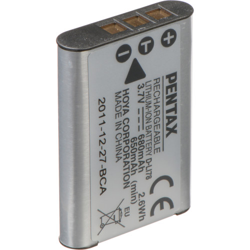 Pentax D-LI78 Rechargeable Lithium-Ion Battery