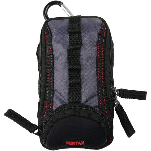 Pentax Adventure Case with Carabiner (Black/Gray)