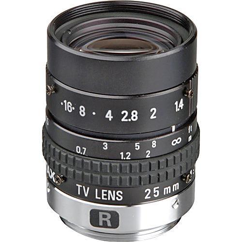 """Pentax C22525KP 1"""" C Mount 25mm f/1.4 Manual Iris Lens"""