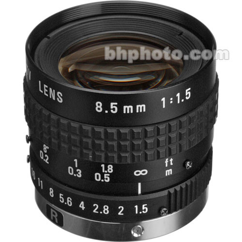 """Pentax C30811TH 2/3"""" 8.5mm C-Mount Fixed Focal Lens"""