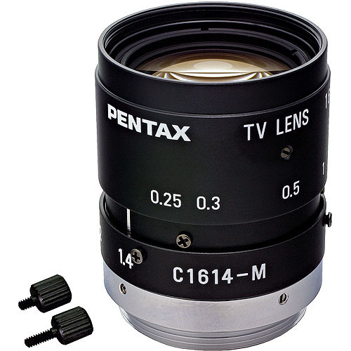 "Pentax C31634KP  2/3"" C Mount 16mm Lens with Manual Iris"
