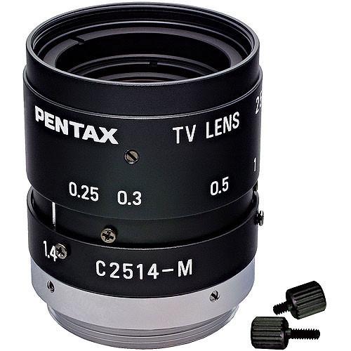 "Pentax C32500KP  2/3"" C Mount 25mm Lens with Manual Iris"