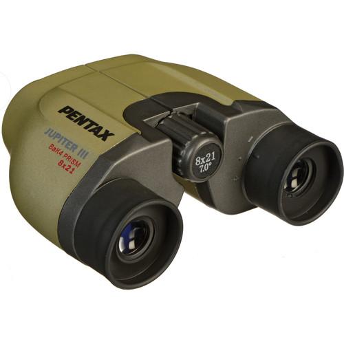 Pentax 8x21 MCF II Jupiter Binocular (Clamshell Packaging)